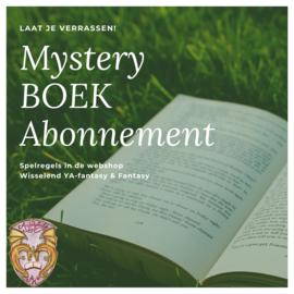 Mystery BOEK Jaarabonnement