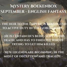 Mystery Boekenbox September - English Fantasy