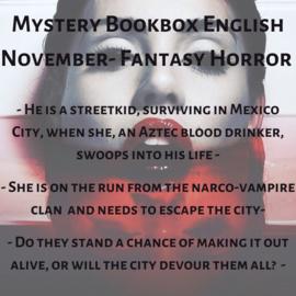 Mystery Bookbox English November - Fantasy Horror