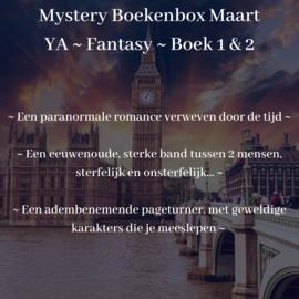 Meer over: Mystery Boekenbox Maart: YA - Fantasy - Boek 1  & 2