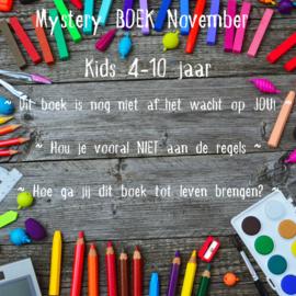 Mystery BOEK November ~ Kids 4-10 jaar