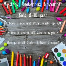 Mystery Boekenbox November ~ Kids 4-10 jaar
