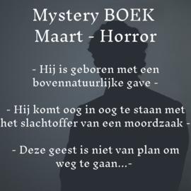 Mystery BOEK Maart - Horror