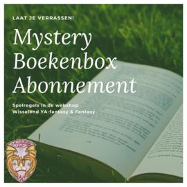 Mystery Boekenbox Jaarabonnement