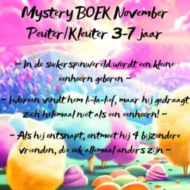 Mystery BOEK November ~ Peuter/kleuter 3-7 jaar