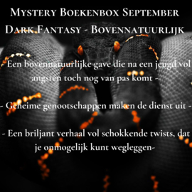 Mystery Boekenbox September - Dark Fantasy ~ Bovennatuurlijk
