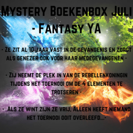 Mystery Boekenbox Juli - Fantasy YA