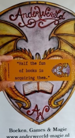 AnderWereld Boekenleggers - Set van 4