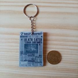 Sleutelhanger Daily Prophet 'Death Eater'