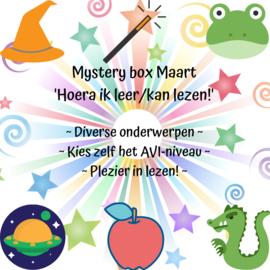 Mystery Box Maart- 'Hoera ik leer/kan lezen!' - 2