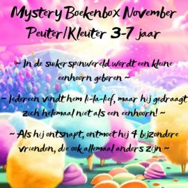 Mystery Boekenbox November ~ Peuter/kleuter 3-7 jaar