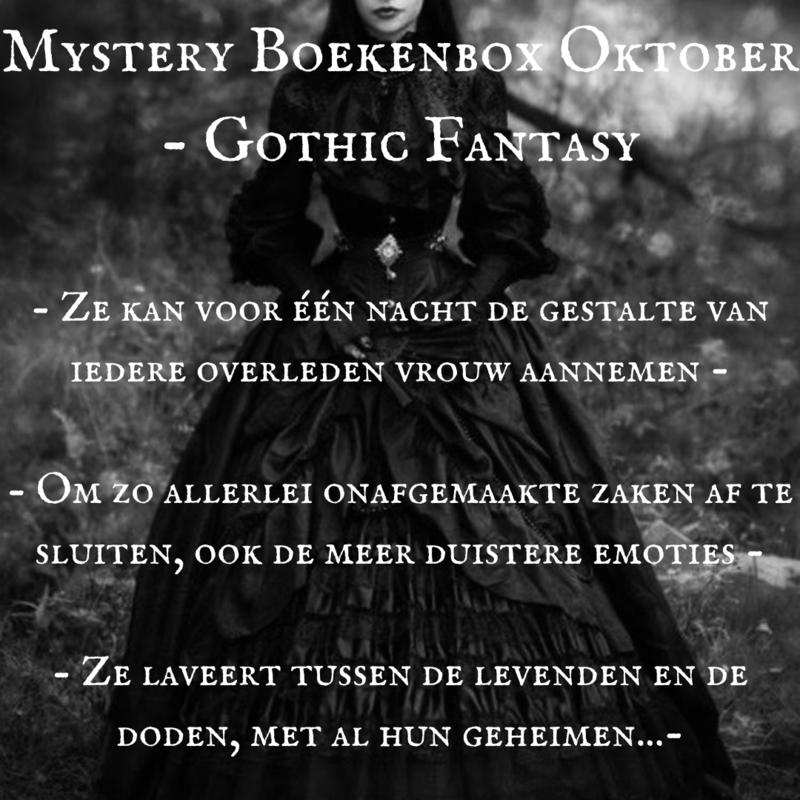Mystery Boekenbox Oktober -  Gothic Fantasy