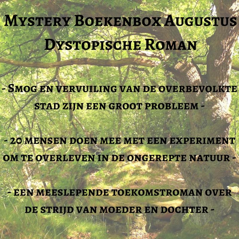 Mystery Boekenbox Augustus - Dystopische Roman