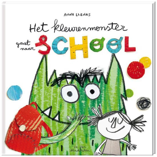 Het kleurenmonster gaat naar school, Anna Llenas