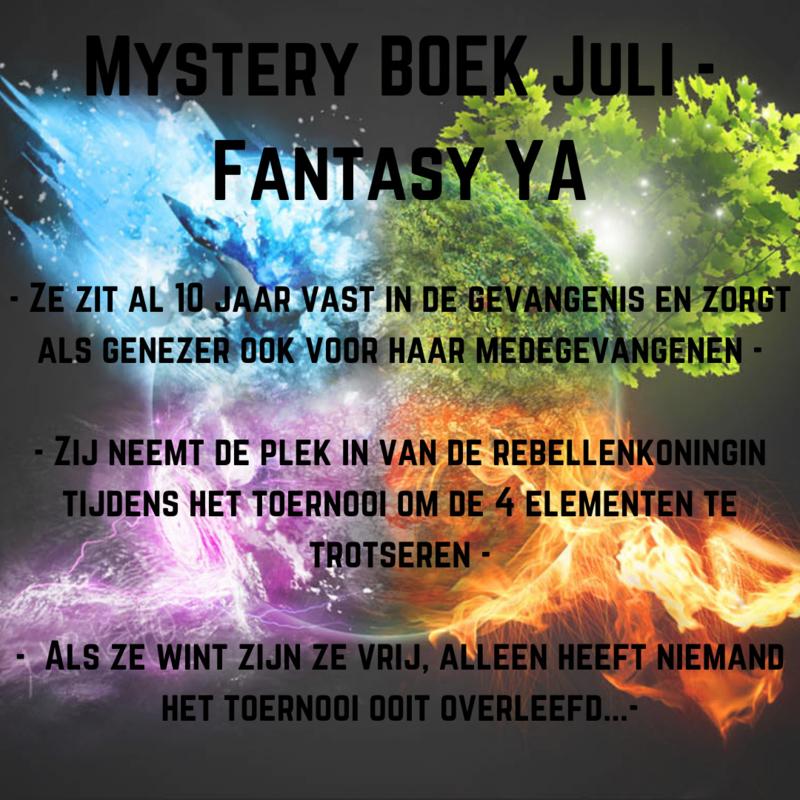 Mystery BOEK Juli - Fantasy YA