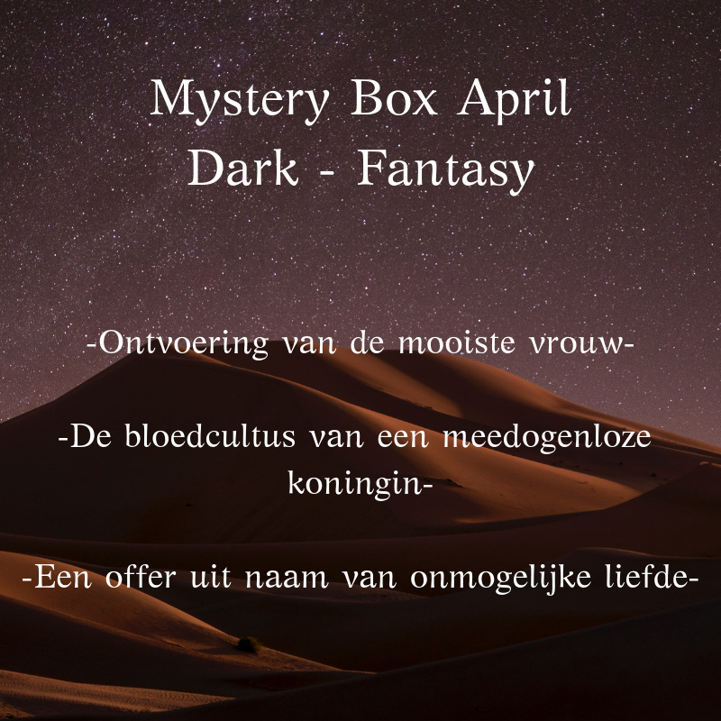 Mystery Box April - Dark Fantasy