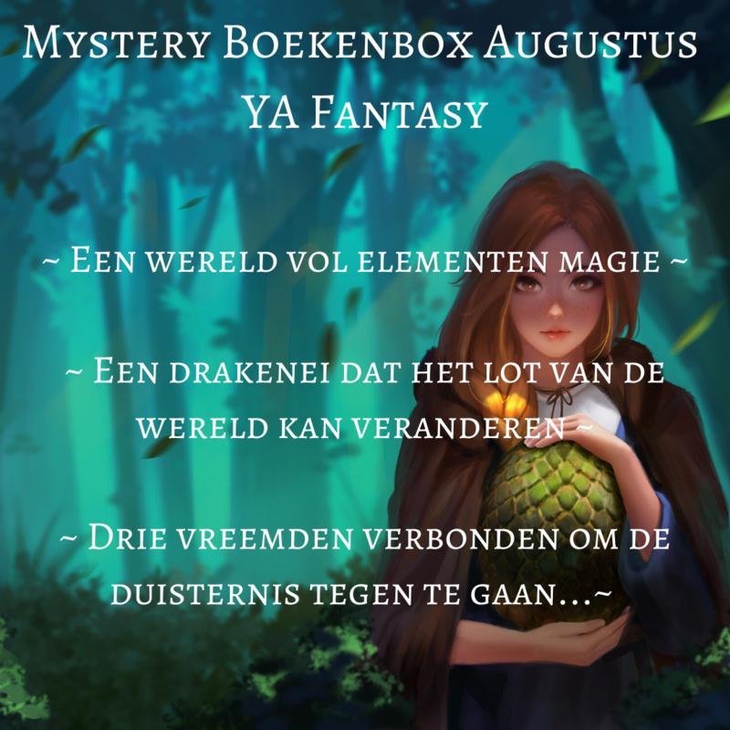 Mystery Boekenbox Augustus ~ YA Fantasy