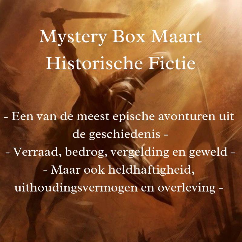 Mystery Box Maart- Historische Fictie
