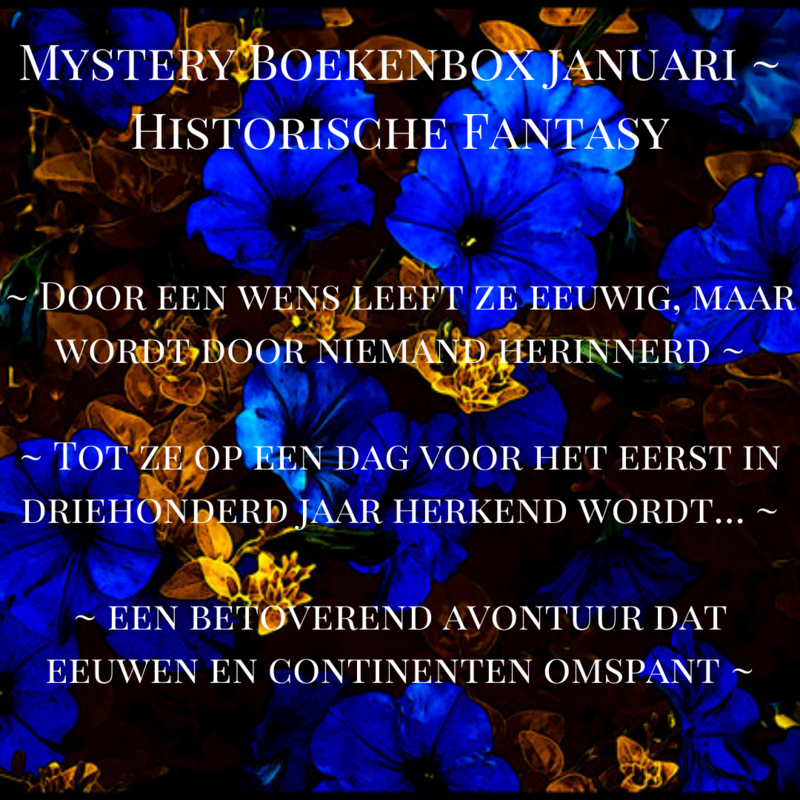 Mystery Boekenbox Januari ~ Historische Fantasy