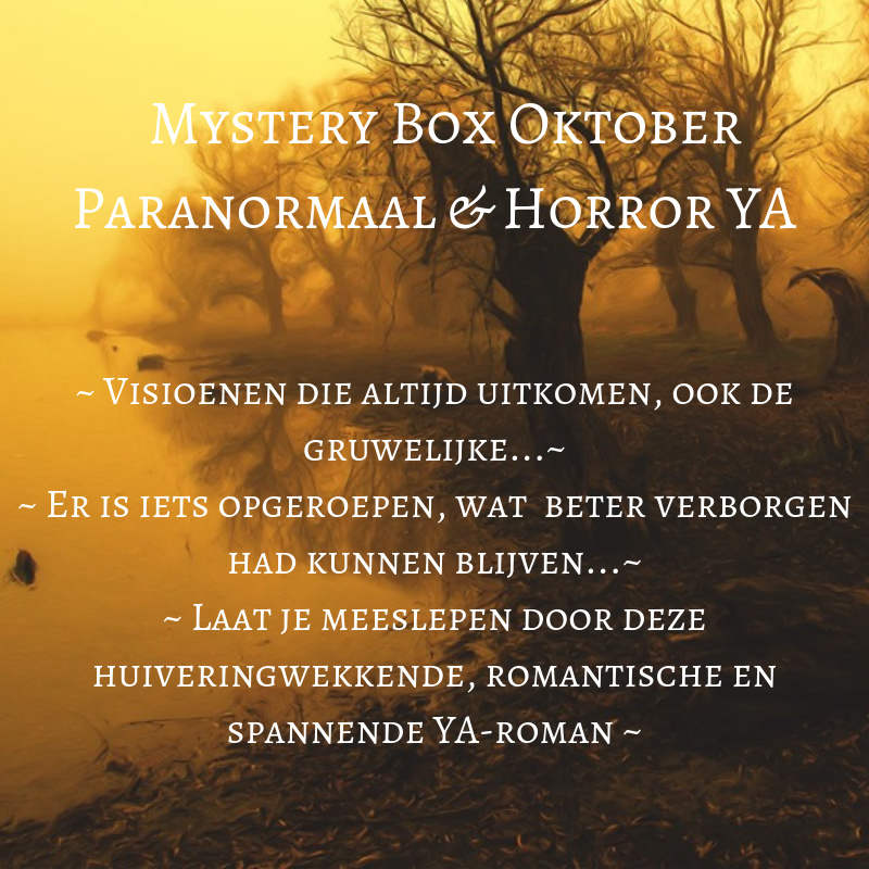 Mystery Box Oktober - Paranormaal & Horror YA