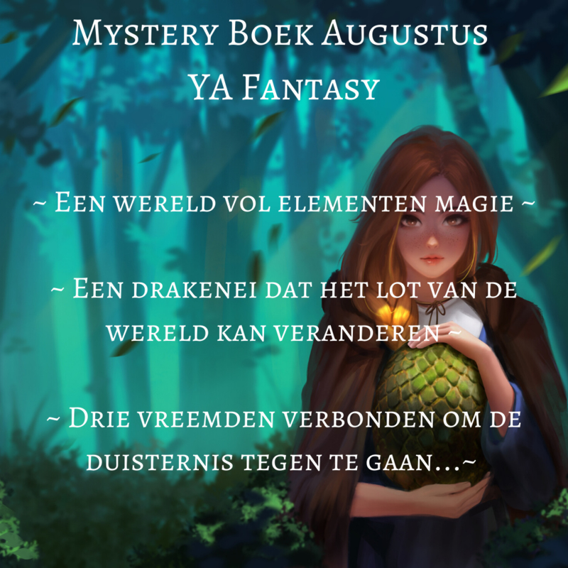 Mystery Boek Augustus ~ YA Fantasy