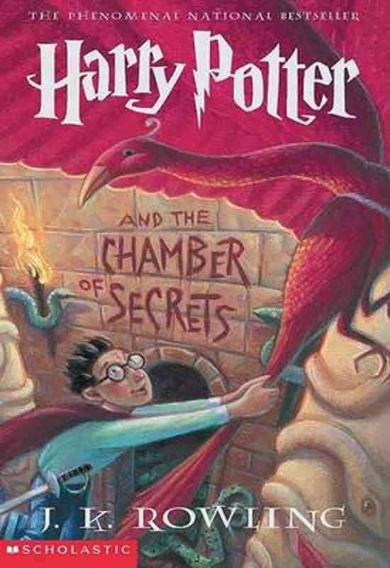Harry Potter and the Chamber of Secrets, J.K. Rowling