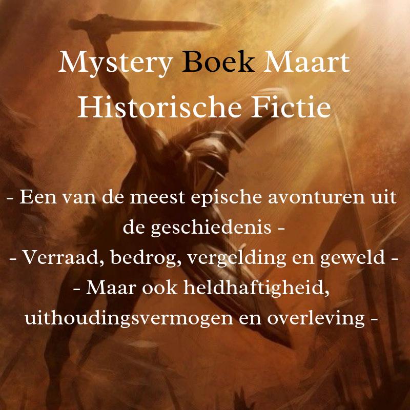 Mystery Boek Maart - Historische Fictie
