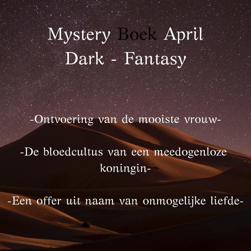 Mystery Boek April - Dark Fantasy