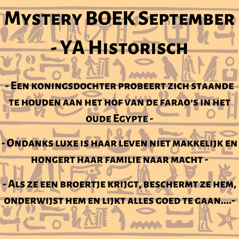 Mystery BOEK September -  YA Historisch