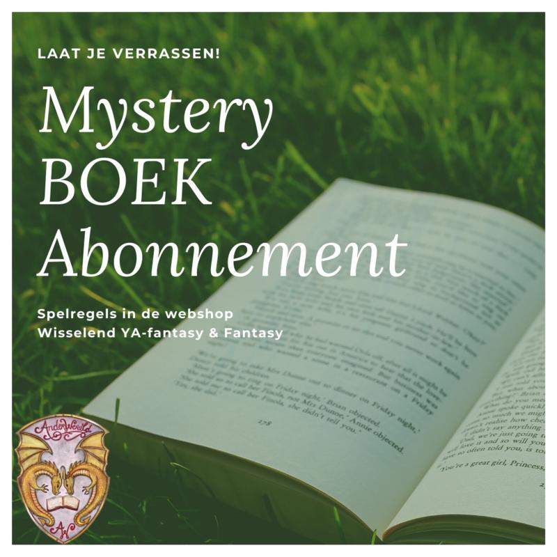 Mystery BOEK Jaarabonnement (aug)