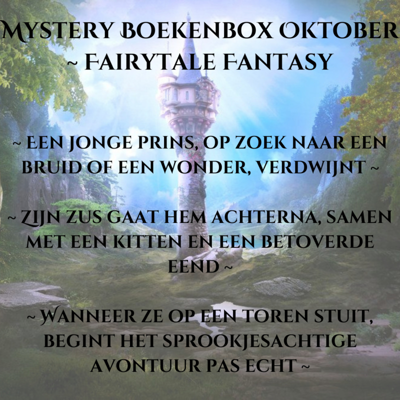 Mystery Boekenbox Oktober-  Fairytale Fantasy