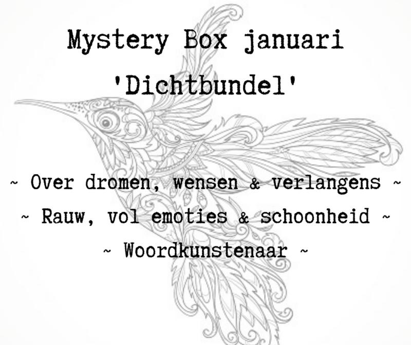 Mystery Box januari- 'Dichtbundel'