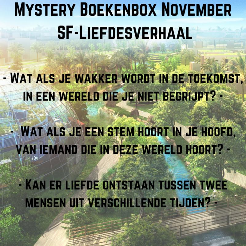 Mystery Boekenbox November - SF Liefdesverhaal
