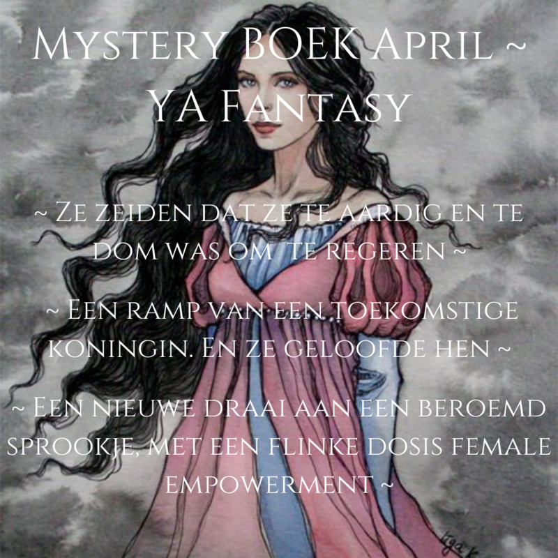 Mystery BOEK April - YA Fantasy
