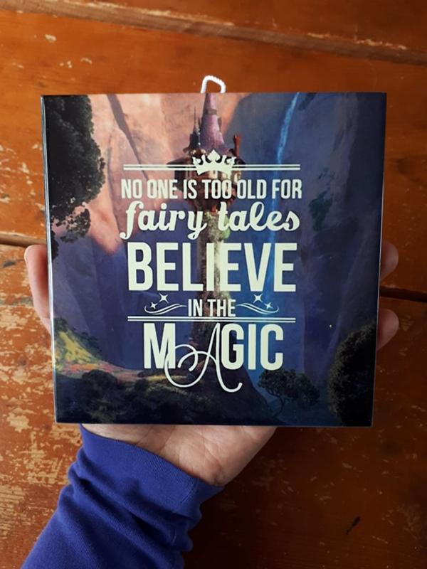 'Fairytale' tegeltje