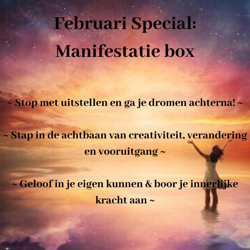Meer over: Februari Special 'De Manifestatie Box'
