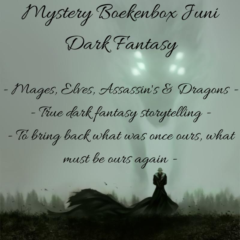 Mystery Boekenbox Juni - Dark Fantasy