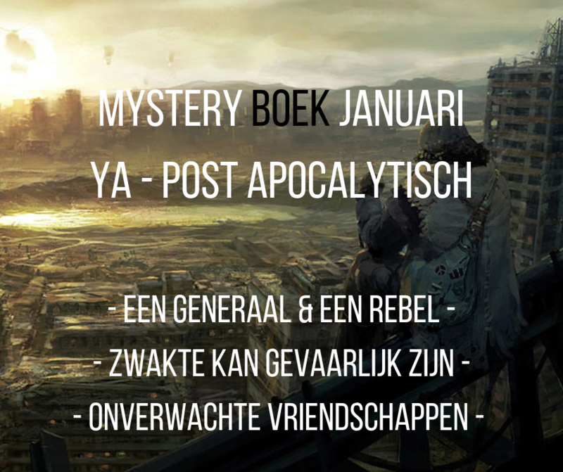 Mystery Boek januari - YA Post Apocalyptisch
