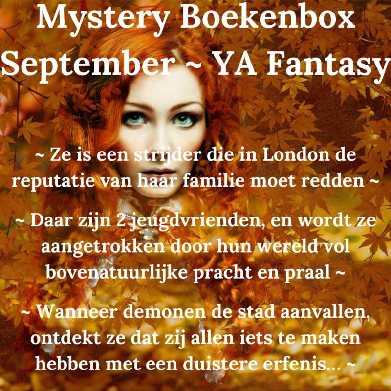 Mystery Boekenbox September- YA Fantasy * SPECIAL EDITION