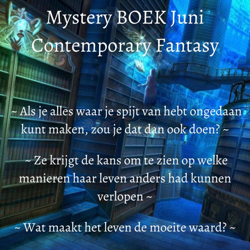 Mystery BOEK Juni - Contemporary Fantasy