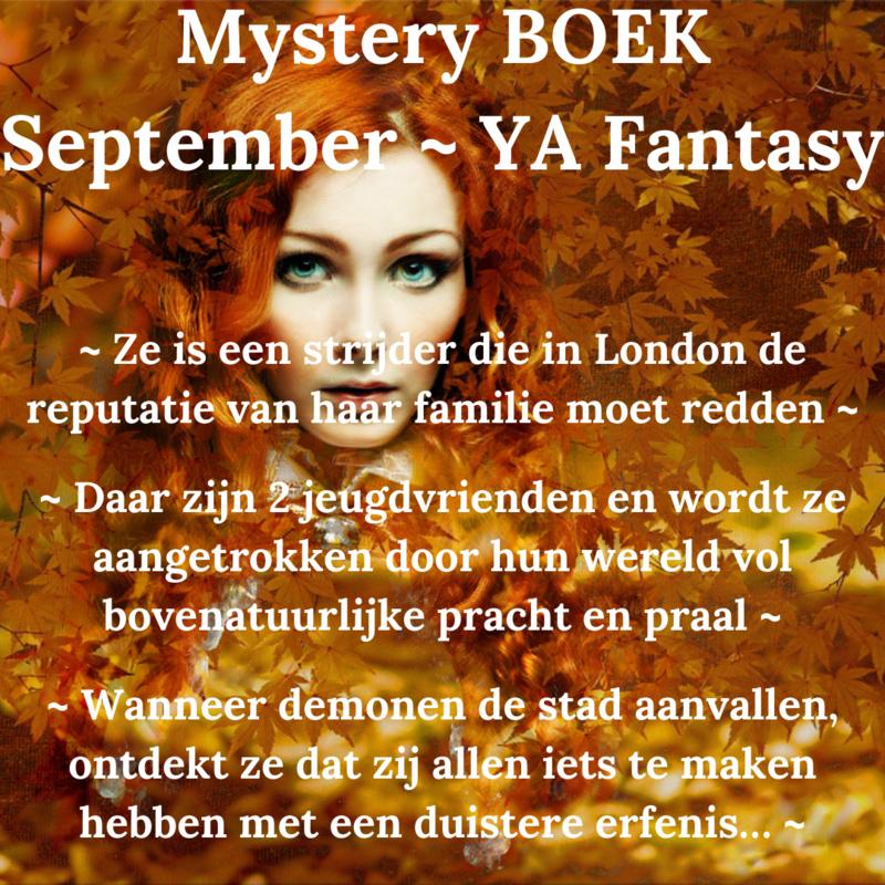 Mystery BOEK September - YA Fantasy * SPECIAL EDITION