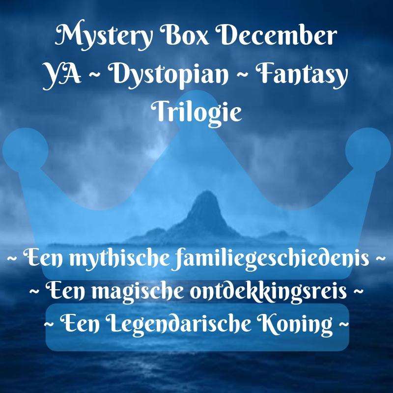 Mystery Box December ~ YA ~Dystopian ~Fantasy Trilogie