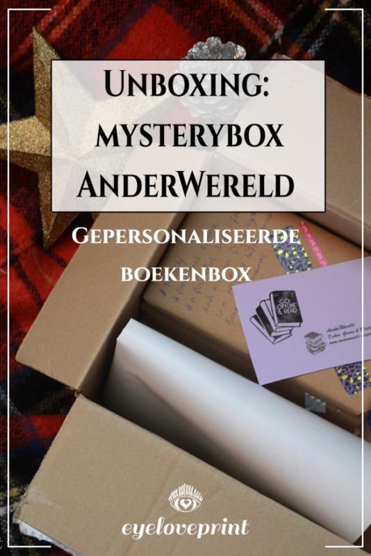 Unboxing: AnderWereld gepersonaliseerde Mysterybox - Gastblog door Eyeloveprint