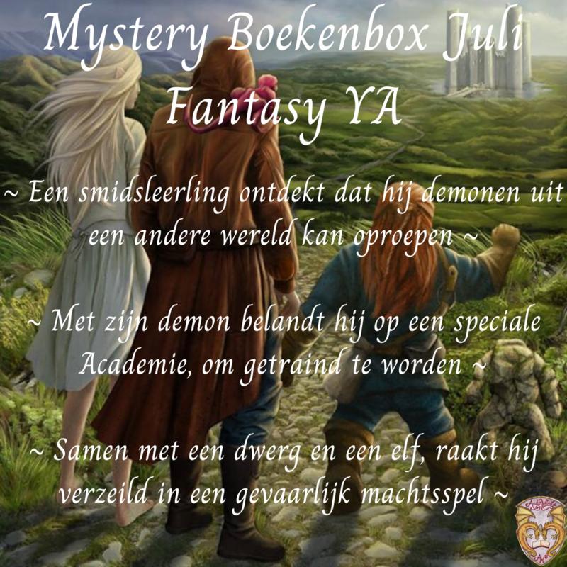 Mystery Boekenbox juli ~ Fantasy YA