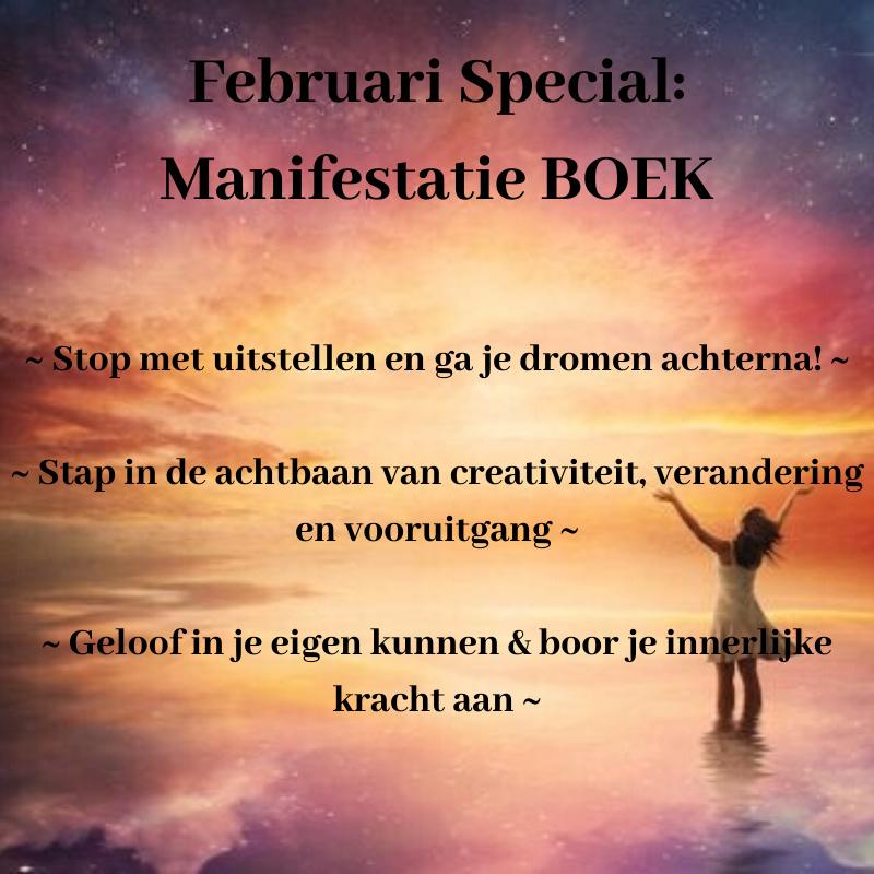 Februari Special: Manifestatie Boek