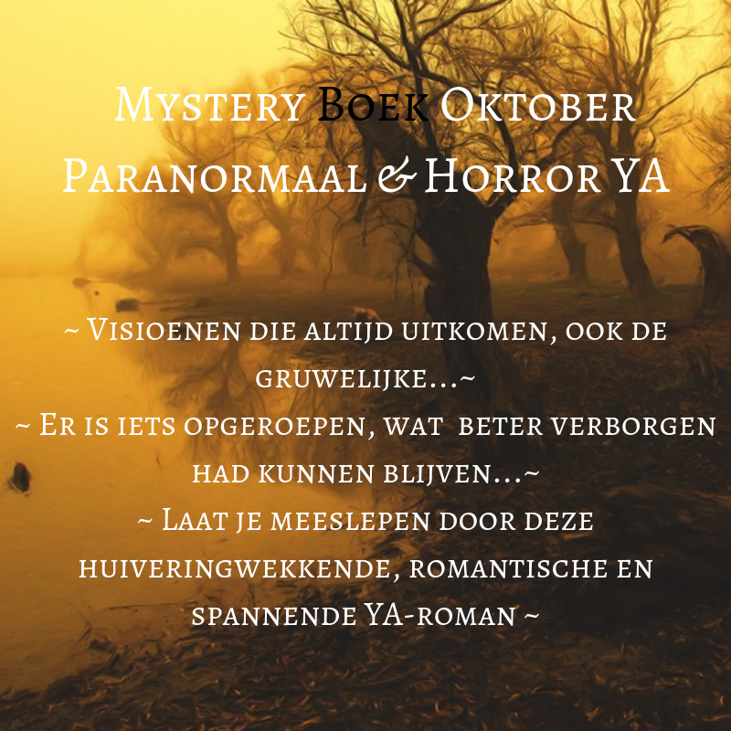 Mystery Boek Oktober - Paranormaal & Horror YA