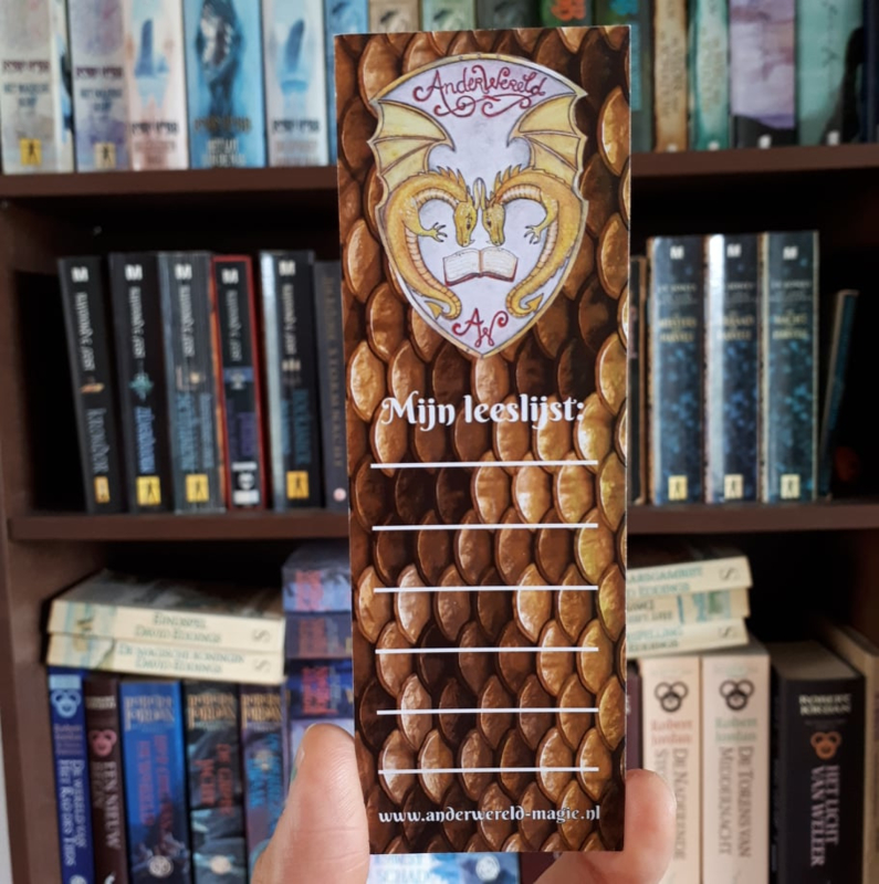 AnderWereld Boekenlegger - BookDragon