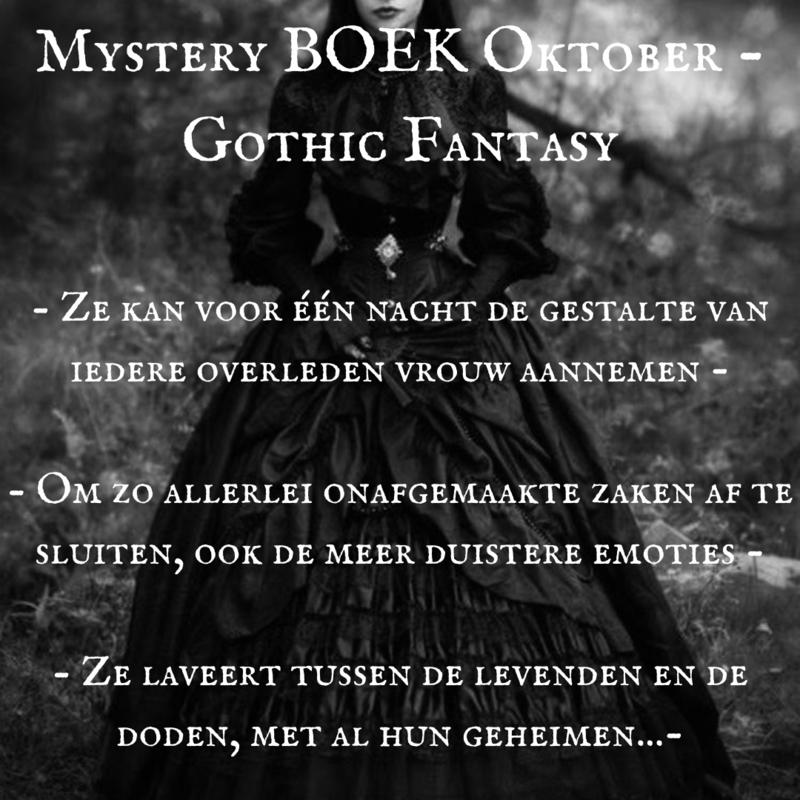 Mystery BOEK Oktober-  Gothic Fantasy