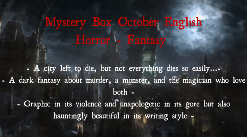 Mystery Box October - Horror Fantasy