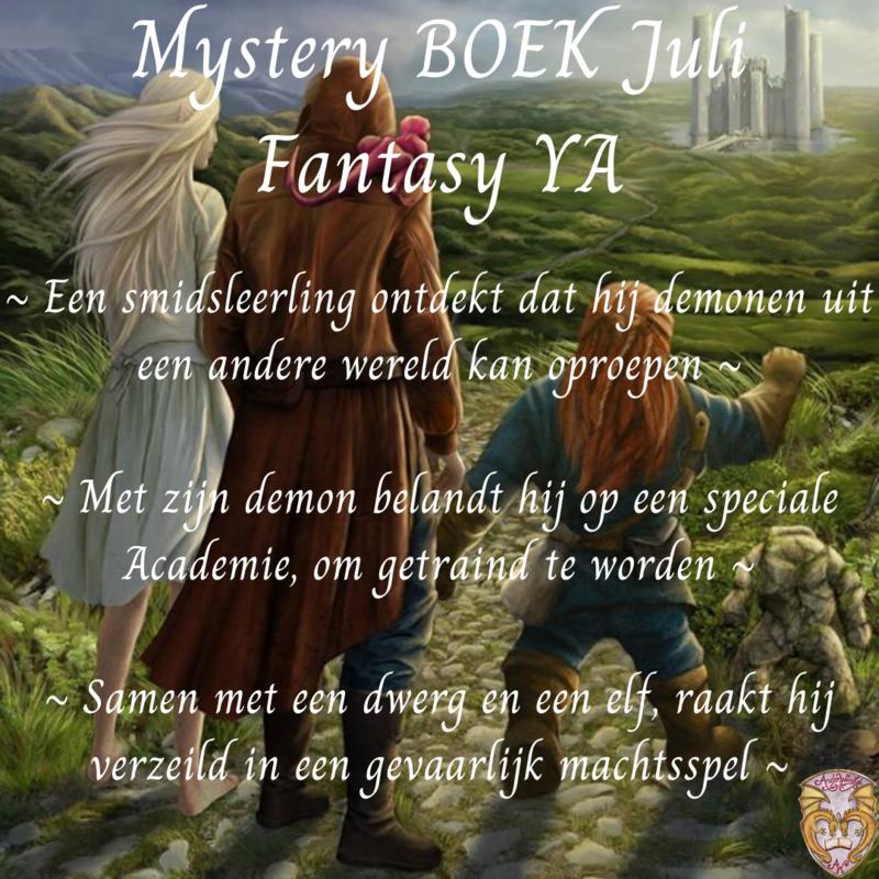 Mystery Boek Juli ~ Fantasy YA